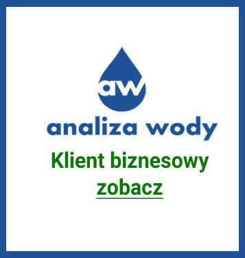 Analiza wody klient biznesowy