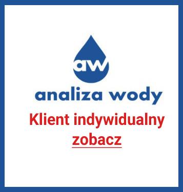 Analiza Wody klient indywidualny